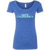CustomCat T-Shirts Vintage Royal / S NL6730 Next Level Ladies' Triblend Scoop