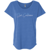 CustomCat T-Shirts Vintage Royal / X-Small Save California Ladies' Triblend Dolman Sleeve