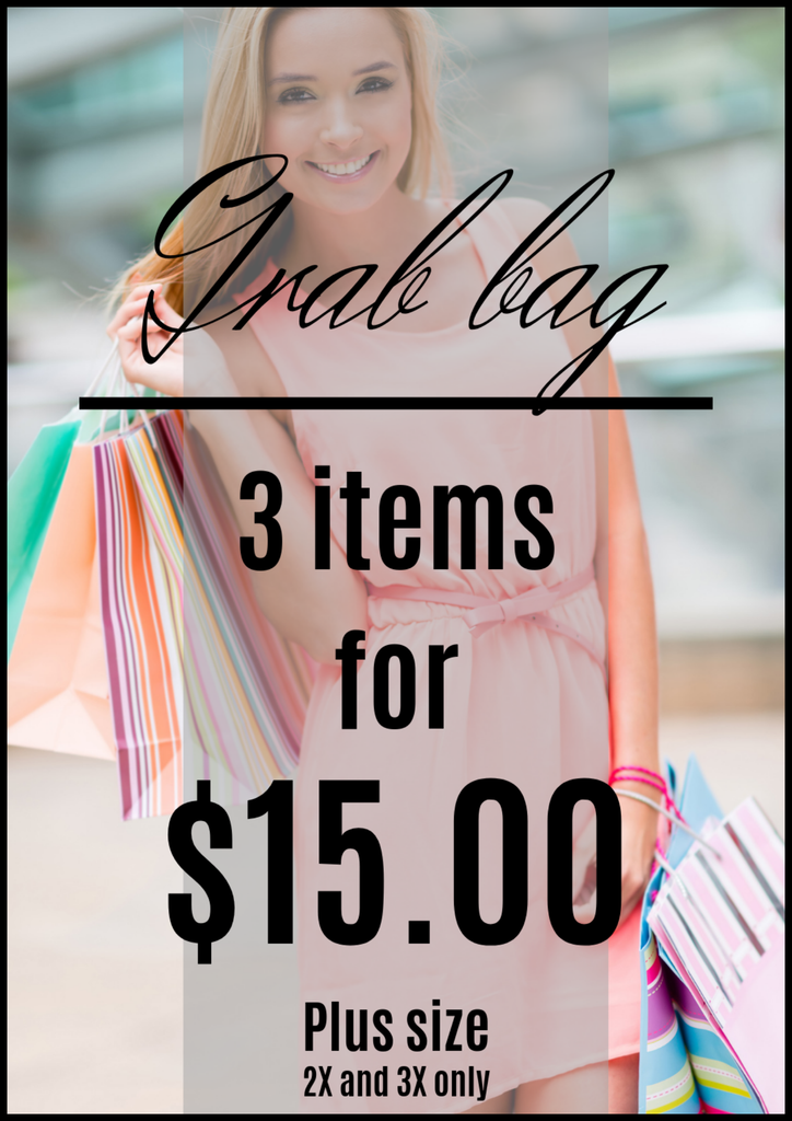 White Plum Apparel Grab Bag - Plus Size!