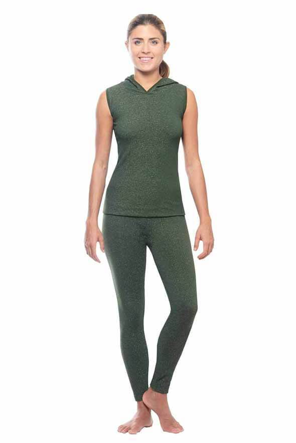 White Plum Apparel Small / Olive Run Around Active Set