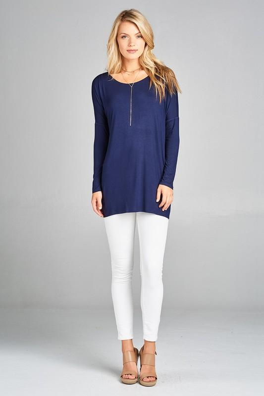 White Plum Tunics Small / Black Basic Blueprint Tunic - More Colors!