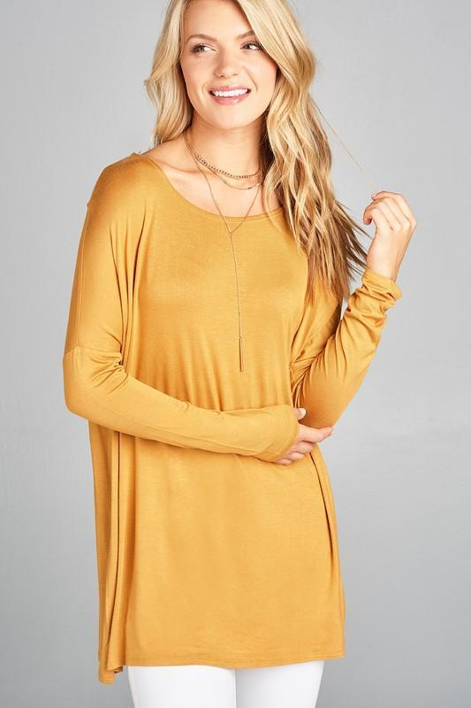 White Plum Tunics Small / Dark Mustard Basic Blueprint Tunic - More Colors!