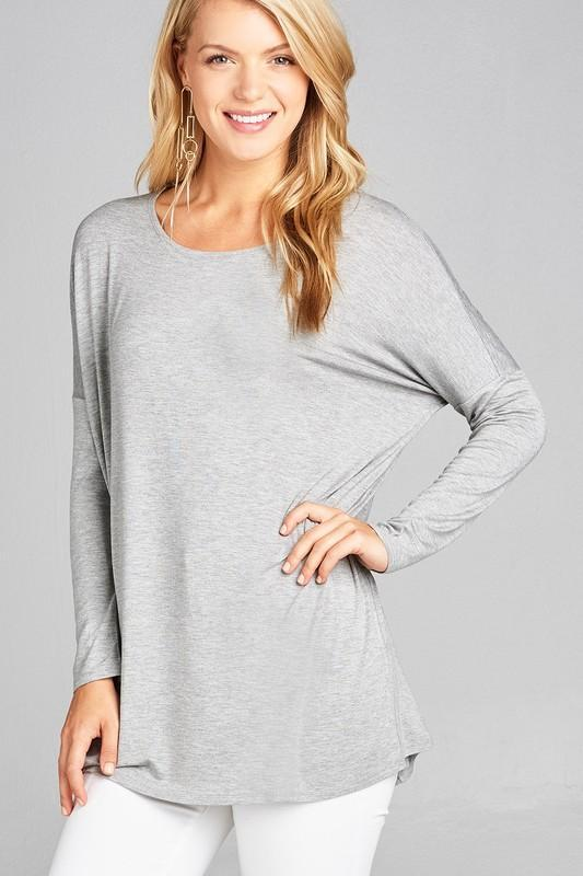 White Plum Tunics Small / Heather Grey Basic Blueprint Tunic - More Colors!