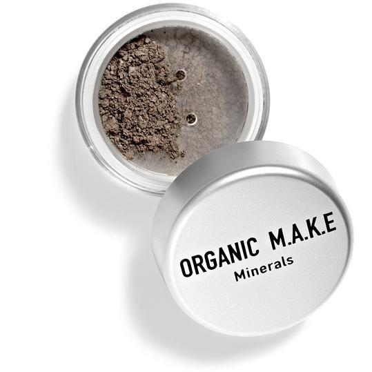 Organic Makeup - Organic Brown Mineral Eyeshadow
