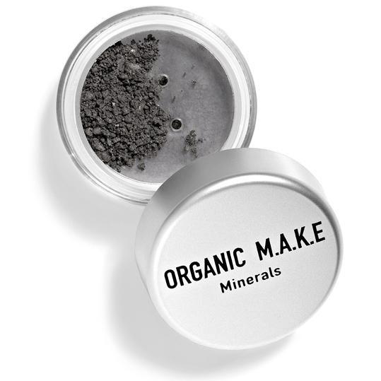 Organic Makeup - Organic Dark Grey Mineral Eyeshadow