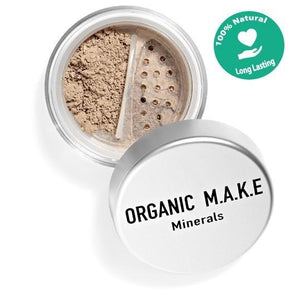 Makeup - Organic Dark Mineral Foundation
