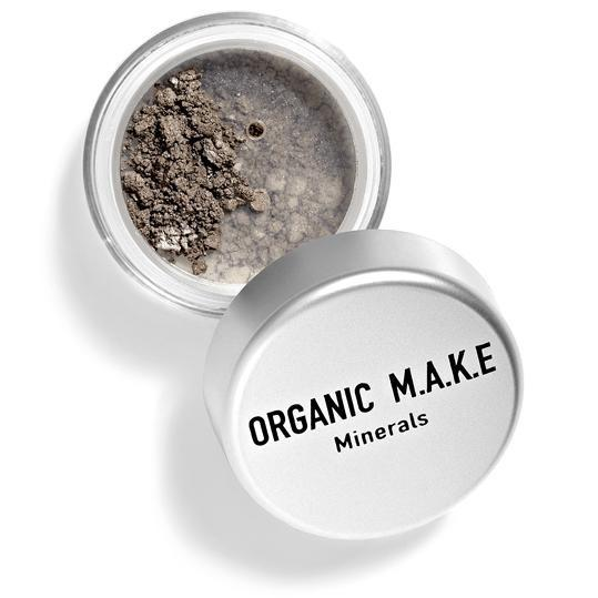 Organic Makeup - Organic Grey Brown Mineral Eyeshadow