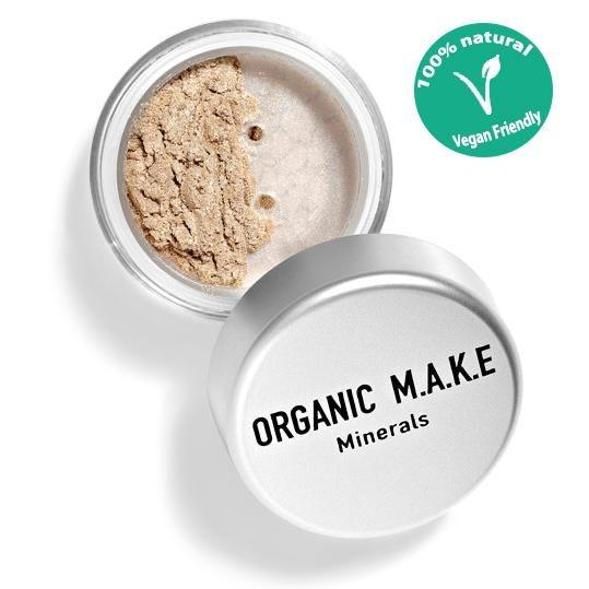 Organic Makeup - Organic Light Beige Mineral Eyeshadow