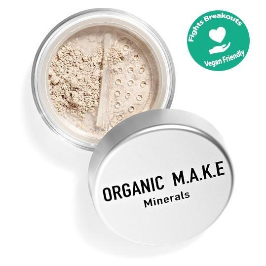 Organic Makeup - Organic Light Mineral Foundation