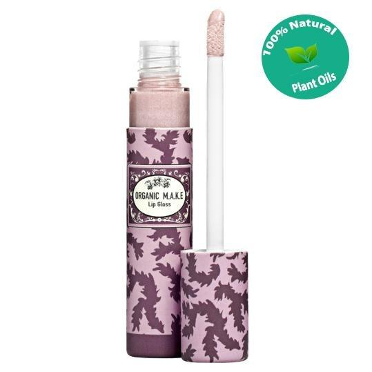Organic Makeup - Organic Lip Gloss Rose