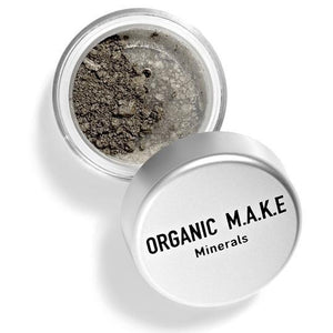Organic Makeup - Organic Olive Brown Mineral Eyeshadow