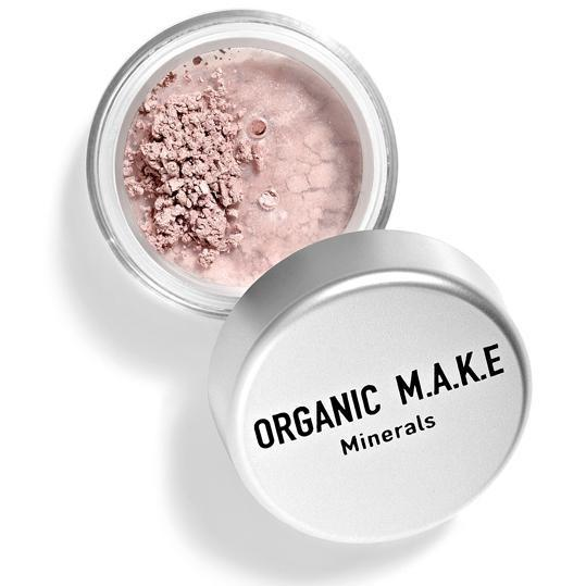 Organic Makeup - Organic Rose Mineral Eyeshadow