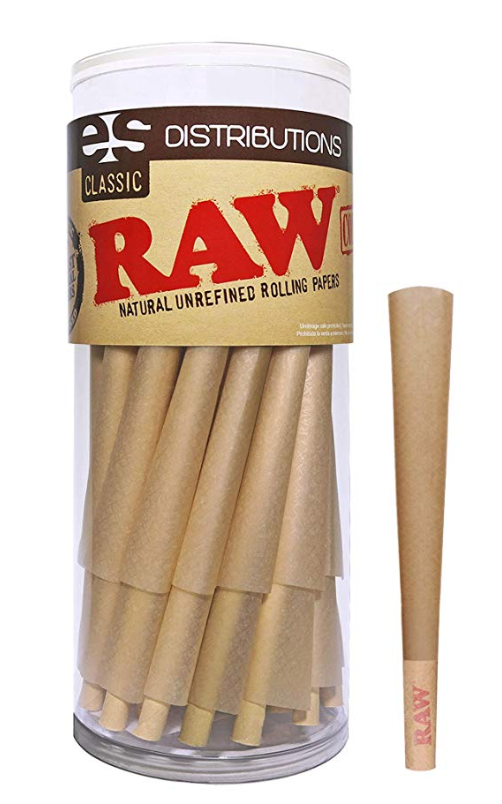 Raw Cones-King Size-50 Pack