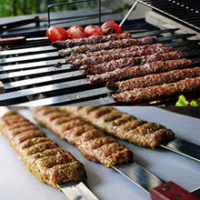 Load image into Gallery viewer, Kabob Skewers - 23 inch Long & 1 inch Wide Stainless Steel