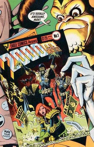 2000 A.D. Monthly Volume 2 (1986 Mini-Series) #1