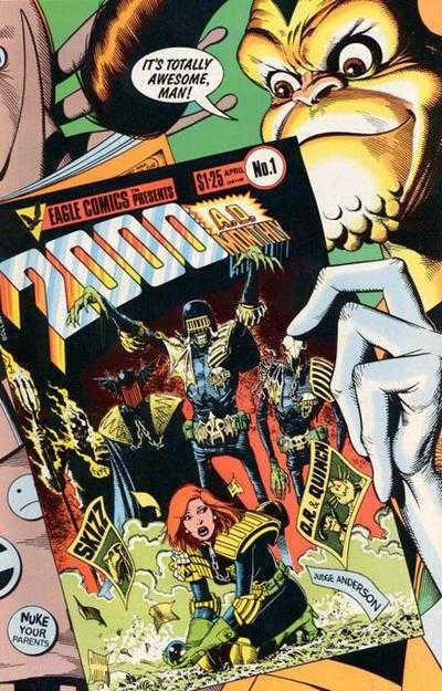 2000AD Monthly (1986 Mini-Series) #01-4 [SET] — Classic Reprints from the U.K.