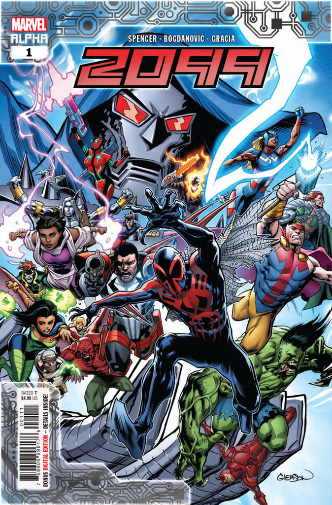 Spider-Man (2018 series) #32 A Multi-Title Crossover [SET] — Volume 07:  2099; The Fight for the Future (All Regular Covers)