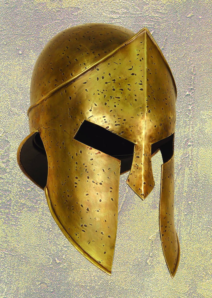 300 (Film) – Spartan Infantry Helmet Prop Replica with C.O.A