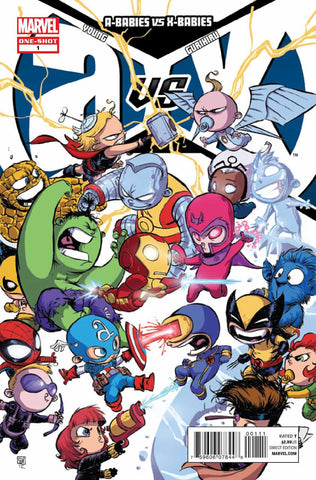 A-Babies vs. X-Babies (2012 One-Shot) #1