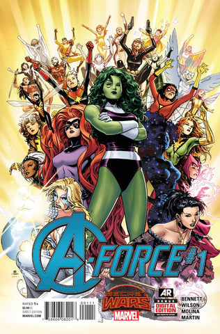 A-Force (2015 Series) #1