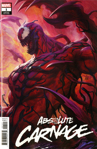 "Absolute Carnage (2019 mini-series) #1 (of 5) (Variant ""Artist"" Cover - Artgerm)"