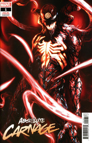 "Absolute Carnage (2019 mini-series) #1 (of 5) (Variant Incentive ""Cult of Carnage"" Cover - Gabriele Dell'Otto)"