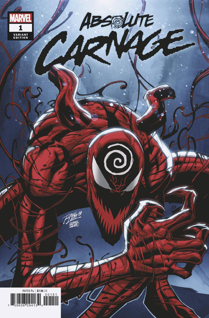 "Carnage (2019 mini-series) #1-5 + FCBD 2019 [SET] — Absolute Carnage (All Variant ""Artist"" Covers)"