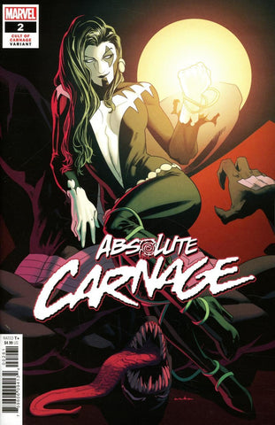 "Absolute Carnage (2019 mini-series) #2 (of 5) (Variant Incentive ""Cult of Carnage"" Cover - Gabriele Dell'Otto)"