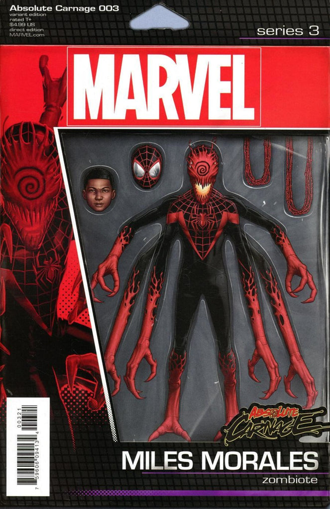 "Absolute Carnage (2019 mini-series) #3 (of 5) (Variant ""Action Figure"" Cover - John Tyler Christopher)"