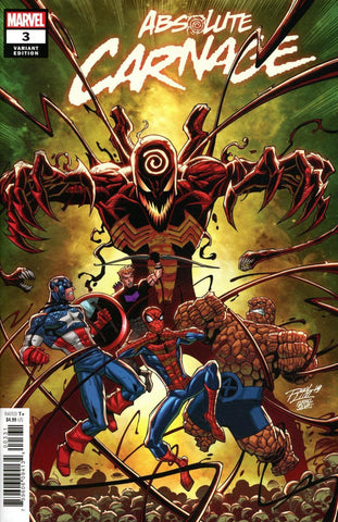 "Absolute Carnage (2019 mini-series) #3 (of 5) (Variant ""Artist"" Cover - Ron Lim)"