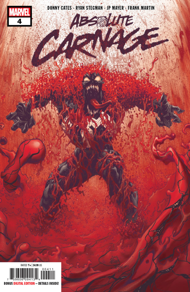 Absolute Carnage (2019 mini-series) #4 (of 5) (Regular Cover - Ryan Stegman)