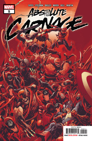 Absolute Carnage (2019 mini-series) #5 (of 5) (Regular Cover - Ryan Stegman)