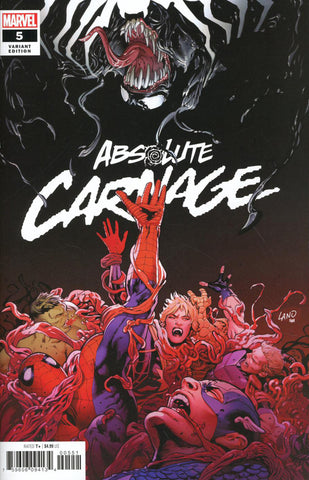"Absolute Carnage (2019 mini-series) #5 (of 5) (Variant ""Artist"" Cover - Greg Land)"