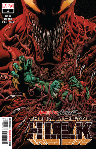 Absolute Carnage; The Immortal Hulk (2019 one-shot) #1 (Regular Cover - Kyle Hotz