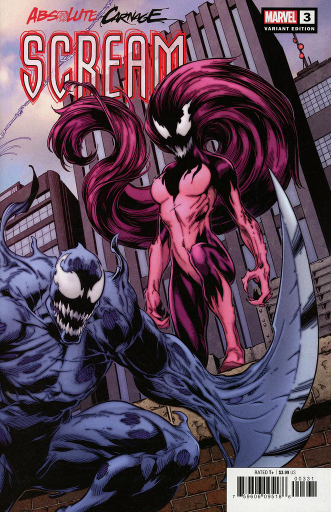 Absolute Carnage; Scream (2019 mini-series) #3 (of 3) (Variant Connecting Cover)