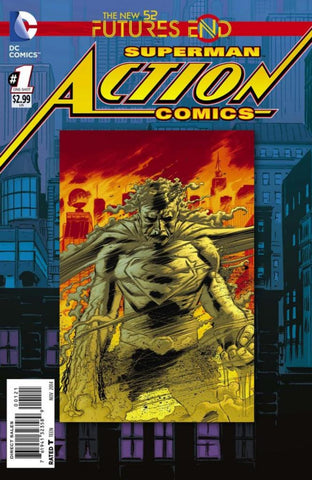 Action Comics: Future's End (2014 One-Shot) #1 (Regular Cover - Lee Weeks)
