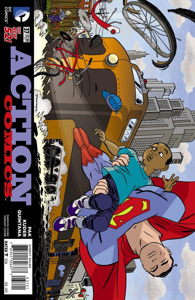 "Action Comics (2011 Series) #37 (Variant ""Artist"" Cover - Darwyn Cooke)"