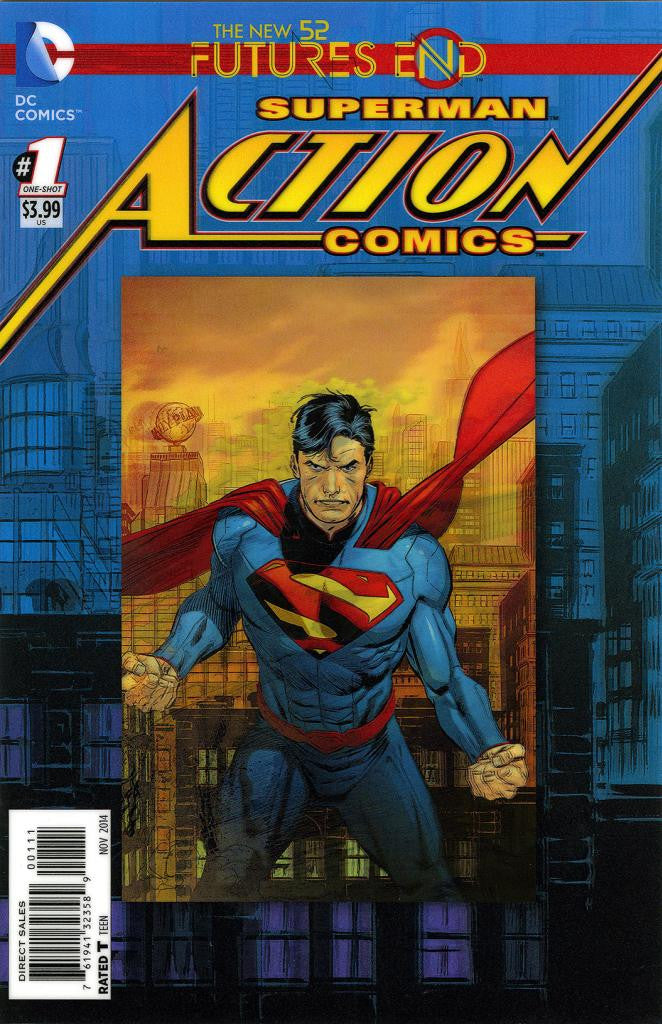"Action Comics: Future's End (2014 One-Shot) #1 (Variant ""3-D"" Cover - Lee Weeks)"