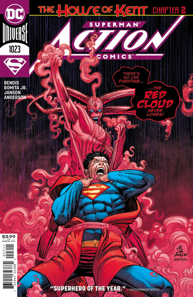 Action Comics (2016 Series) #1023 (Regular Cover - John Romita, Jr.)