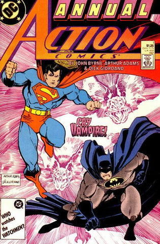 Action Comics (1938 Series) Annual #1 (1987)