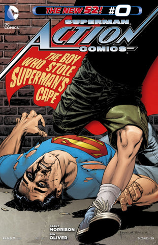 Action Comics (2011 Series) #0 (Variant Cover - Rags Morales)