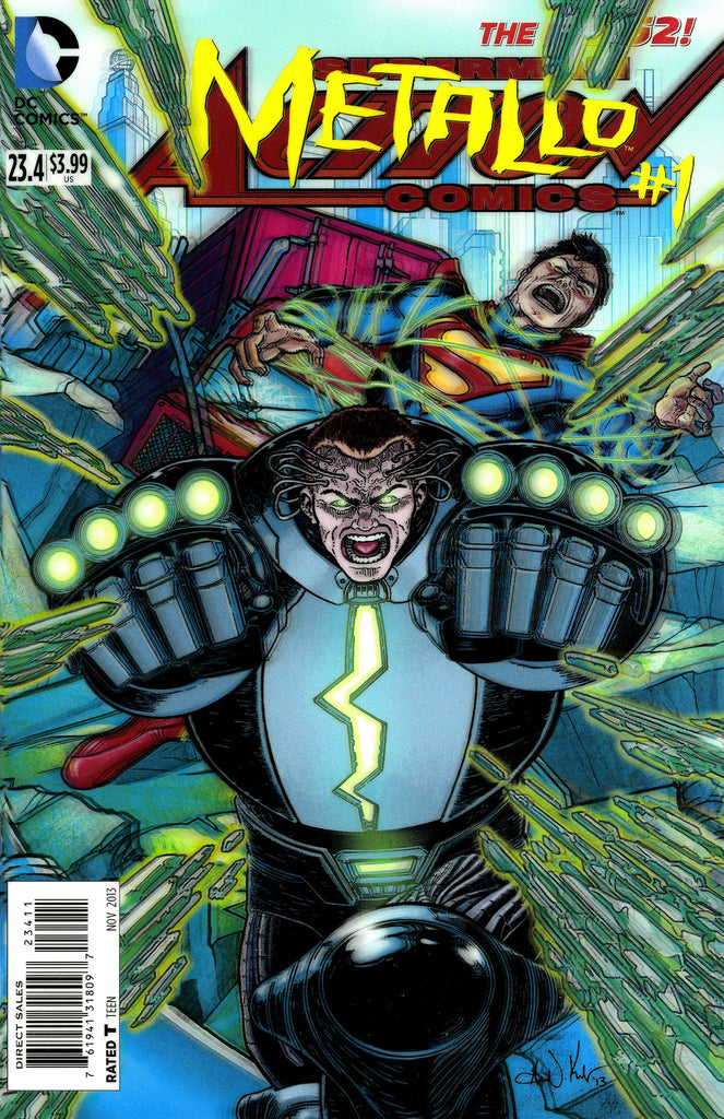 "Action Comics (2011 Series) #23.4 Metallo (Variant ""3-D"" Cover - Aaron Kuder)"