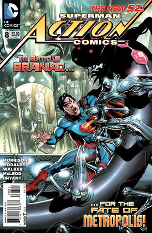 Action Comics (2011 Series) #8