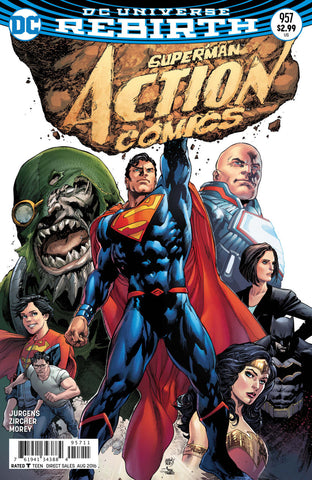 Action Comics (2016 Series) #957 (Regular Cover - Ivan Reis)