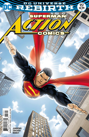 Action Comics (2016 Series) #957 (Variant Cover - Ryan Sook)