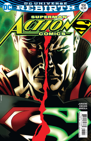 Action Comics (2016 Series) #958 (Variant Cover - Ryan Sook)