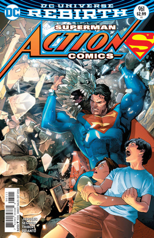 Action Comics (2016 Series) #961 (Regular Cover - Clay Mann)