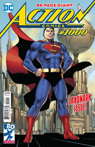 Action Comics (2016 Series) #1000 (Regular Cover - Jim Lee)