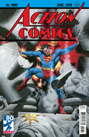 "Action Comics (2016 Series) #1000 (Variant ""1930's"" Cover - Steve Rude)"