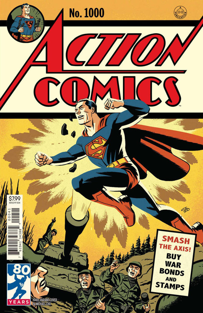 "Action Comics (2016 Series) #1000 (Variant ""1940's"" Cover - Michael Cho)"